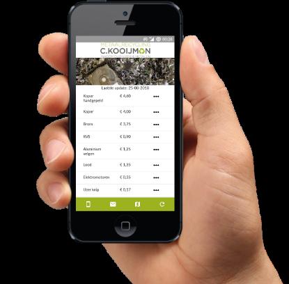 Metaalprijzen app